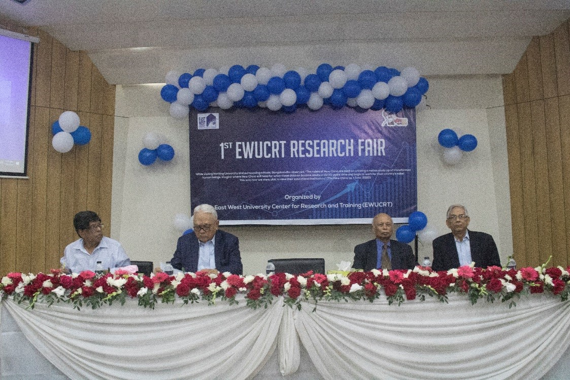 Pannel Discussion of EWUCRT 1st Research Fair