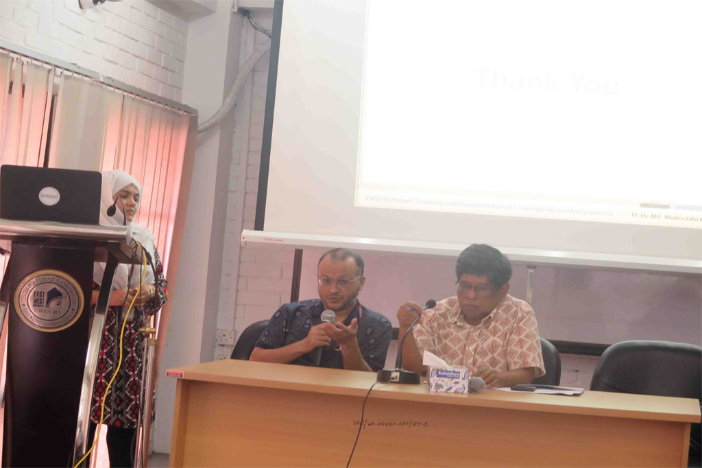 EWU-CRT Organizes a Research Seminar