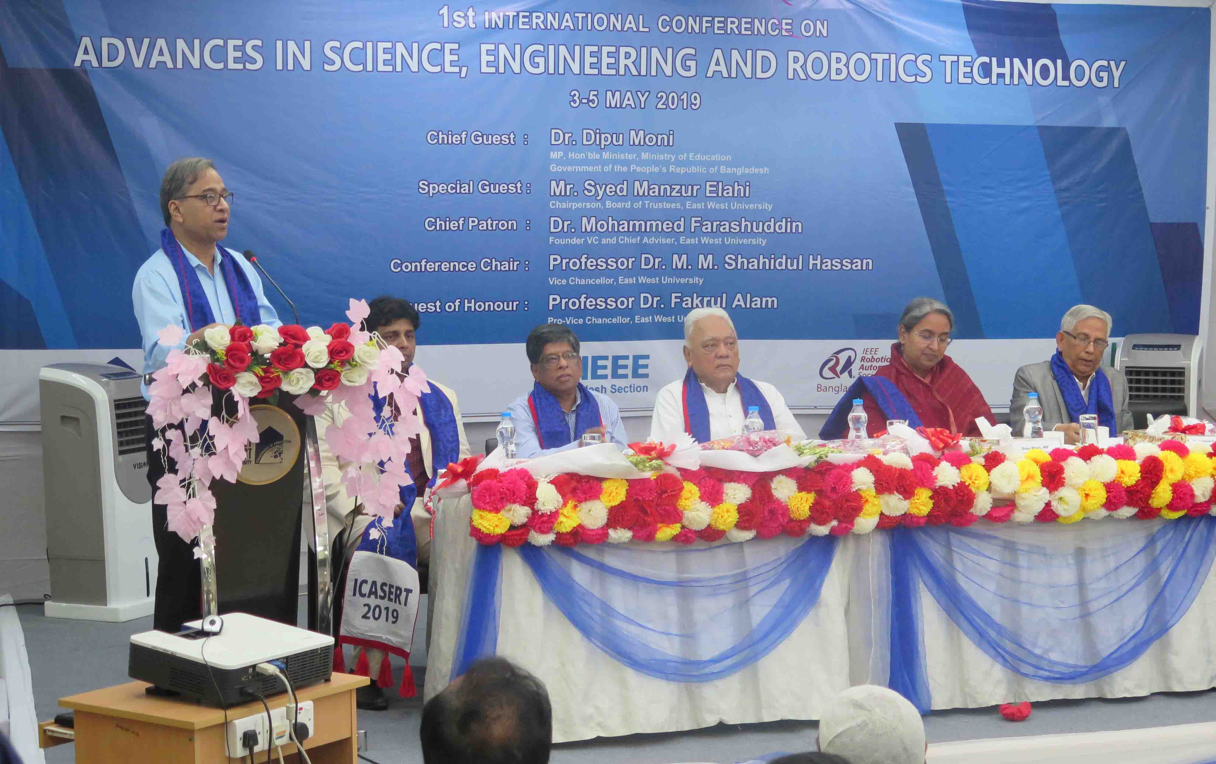 International Conference and Robo-Fest 2019 at East West