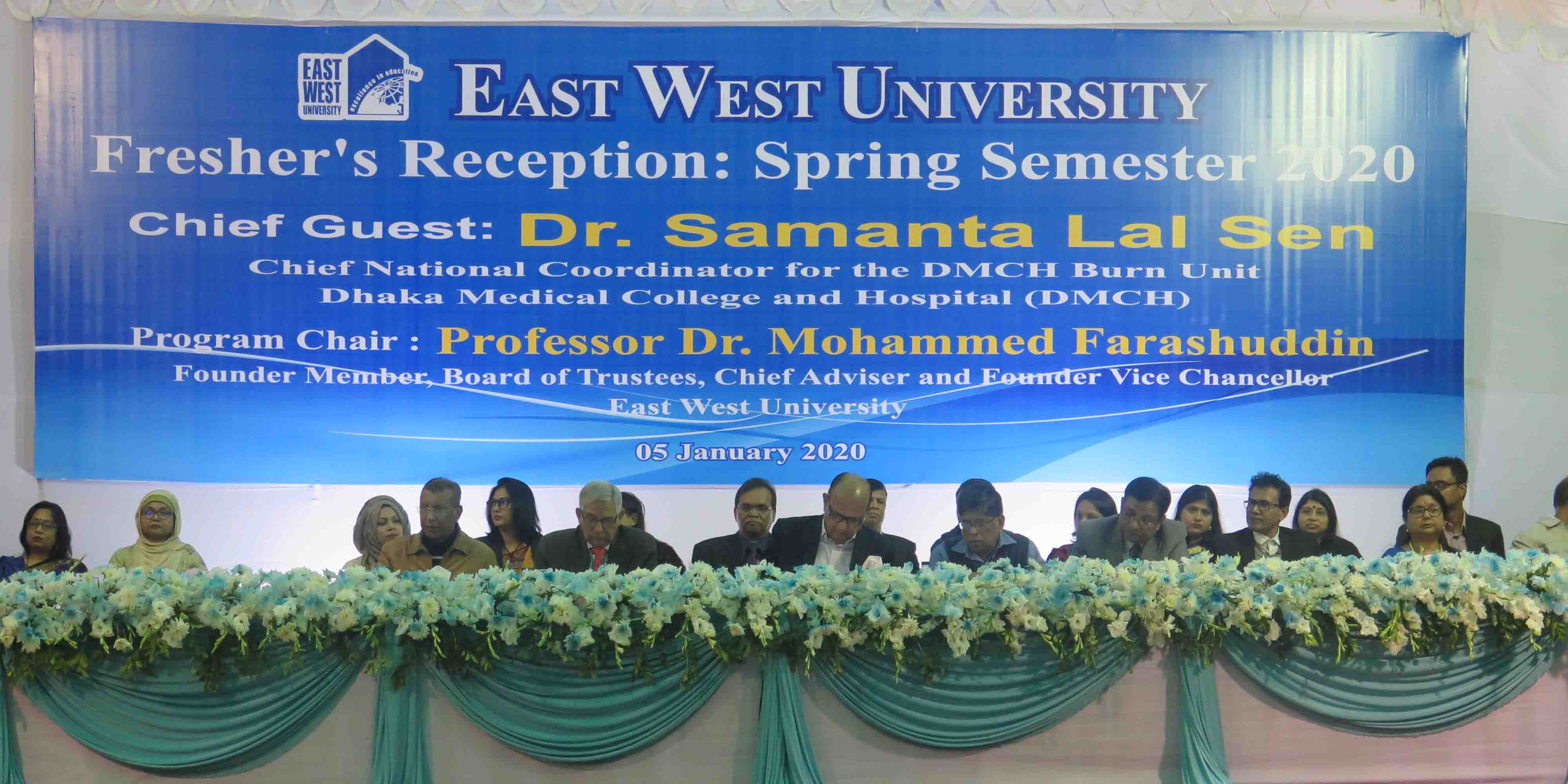 EWU welcomes Fresher's in Spring Semester 2020