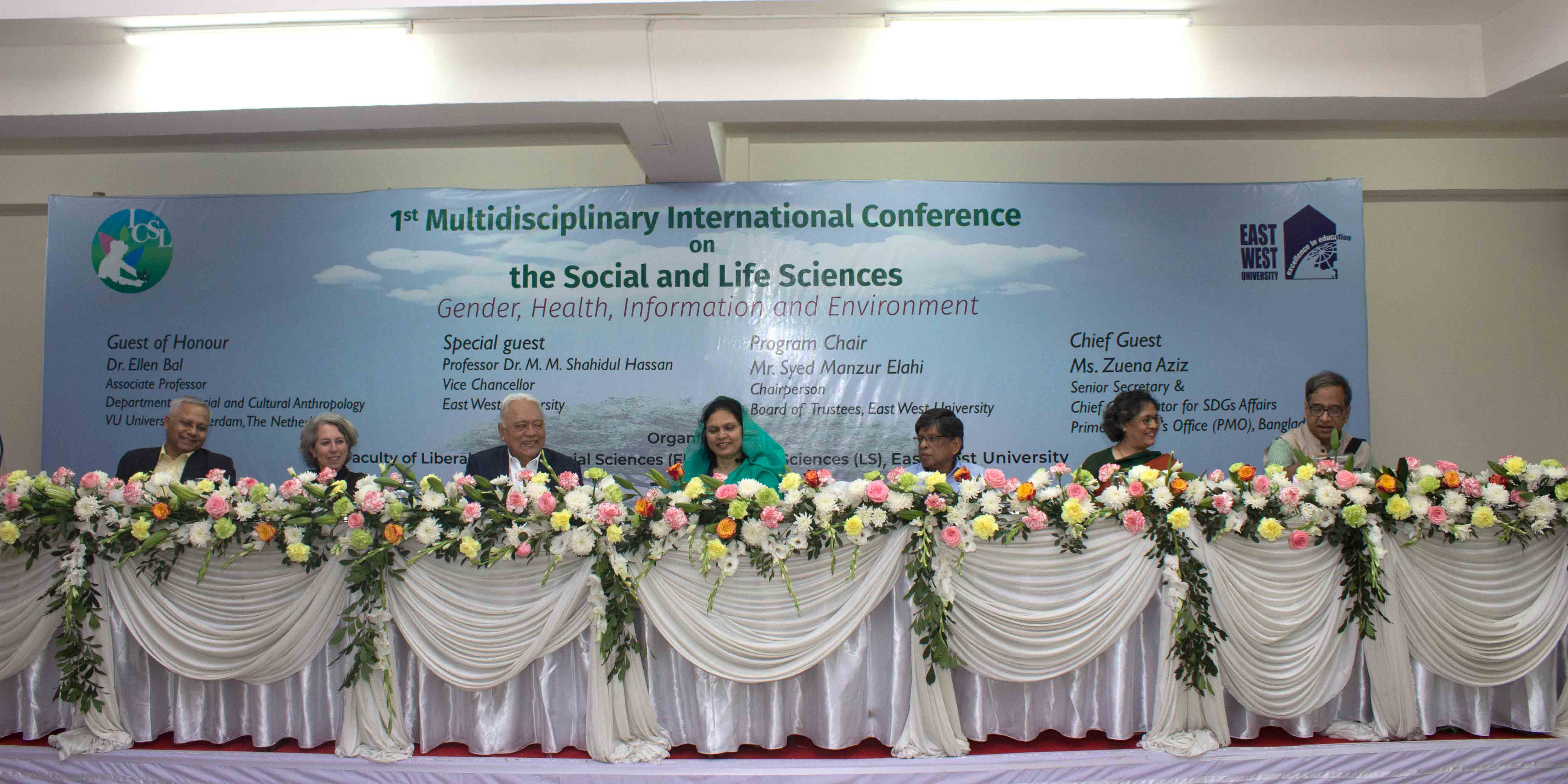 EWU Arranges a Multidisciplinary International Conference
