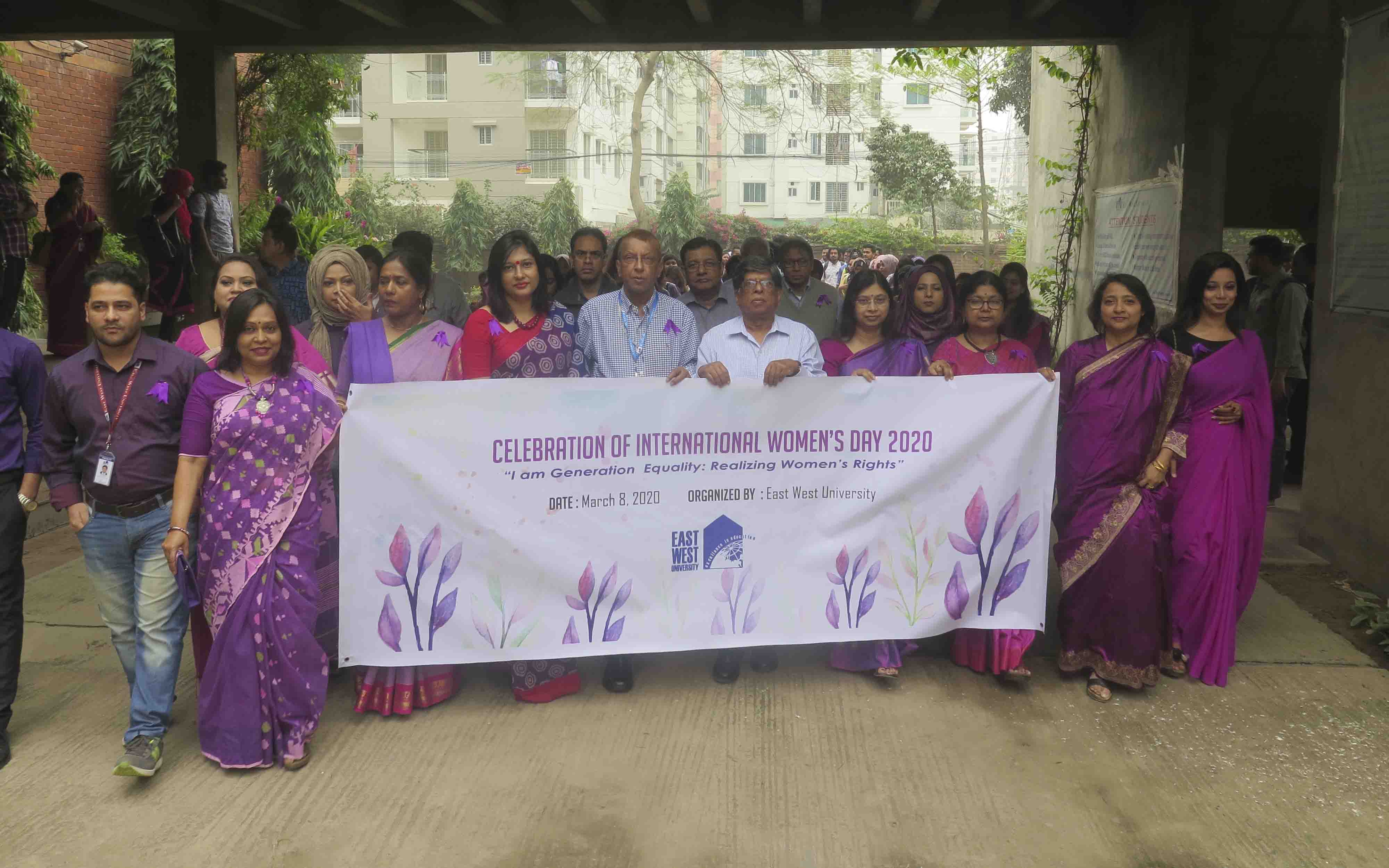 EWU Celebrated International Women's Day
