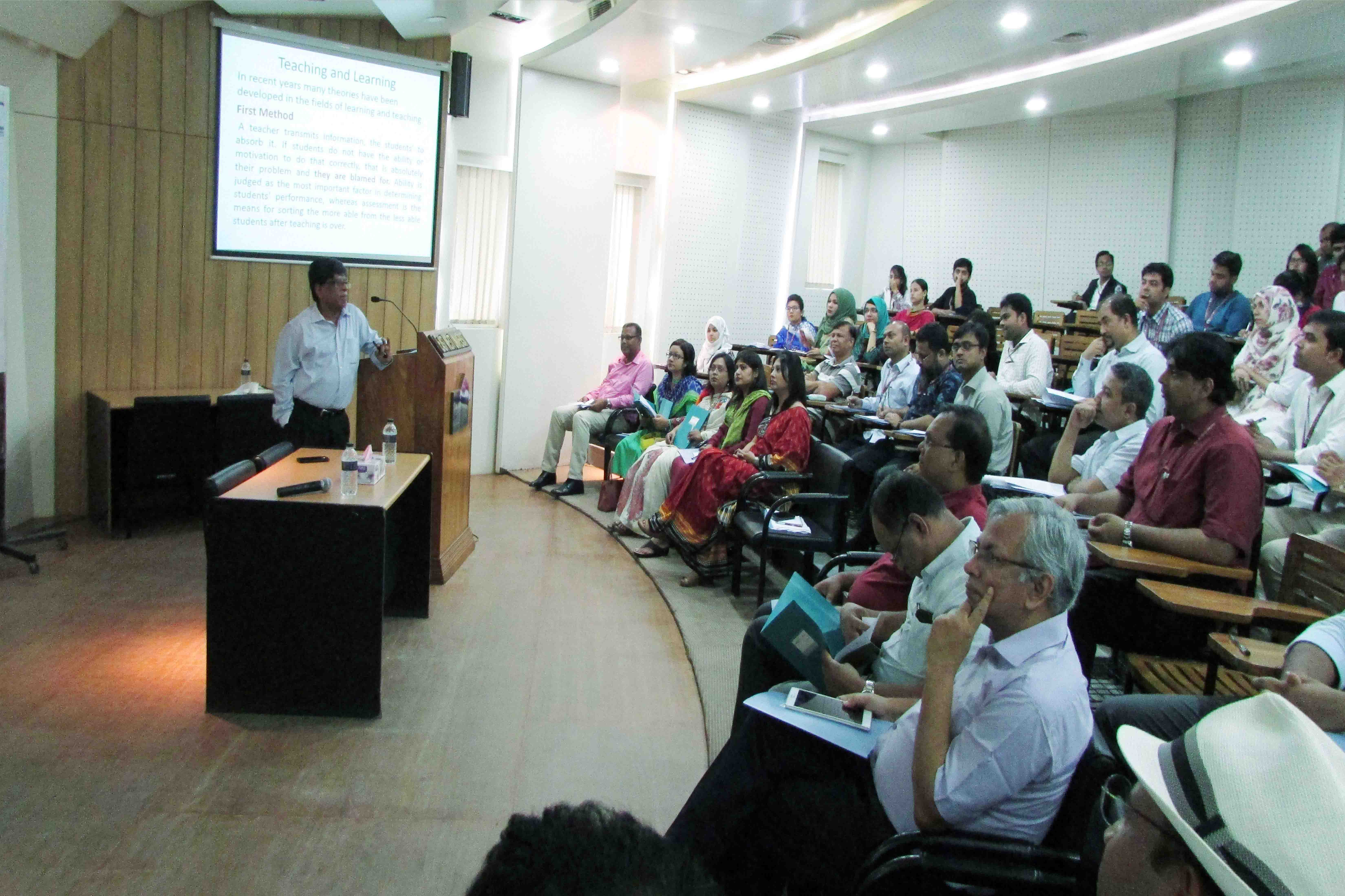 """Workshop and orientation program on """"Teaching Learning Methods and Practices"""""""
