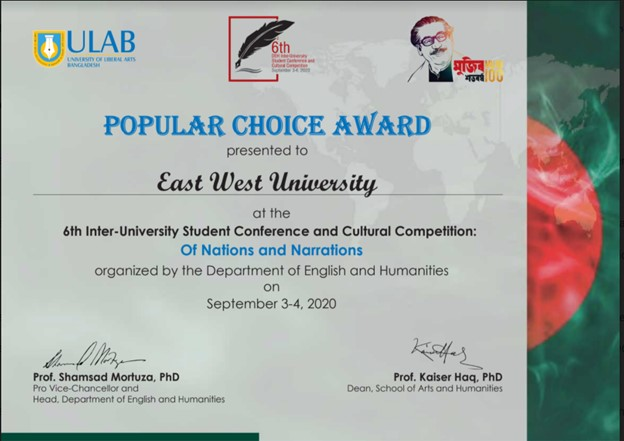 """Department of English (EWU) participated in """"Of Na..."""