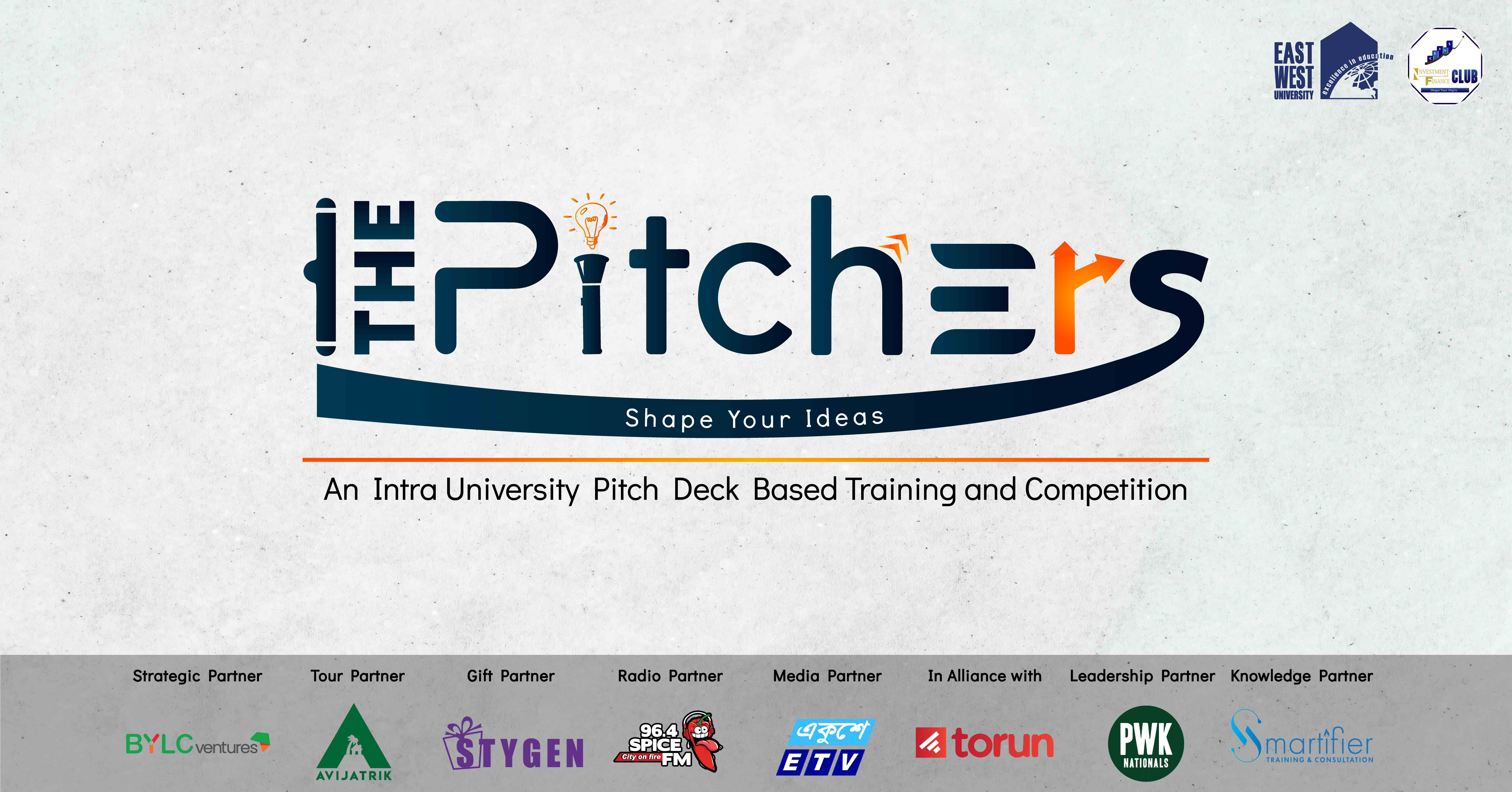 """THE PITCHERS- An Intra University Pitch Deck based Training and Competition"""