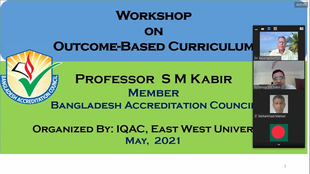 """Workshop on """"Outcome-based Curriculum"""""""