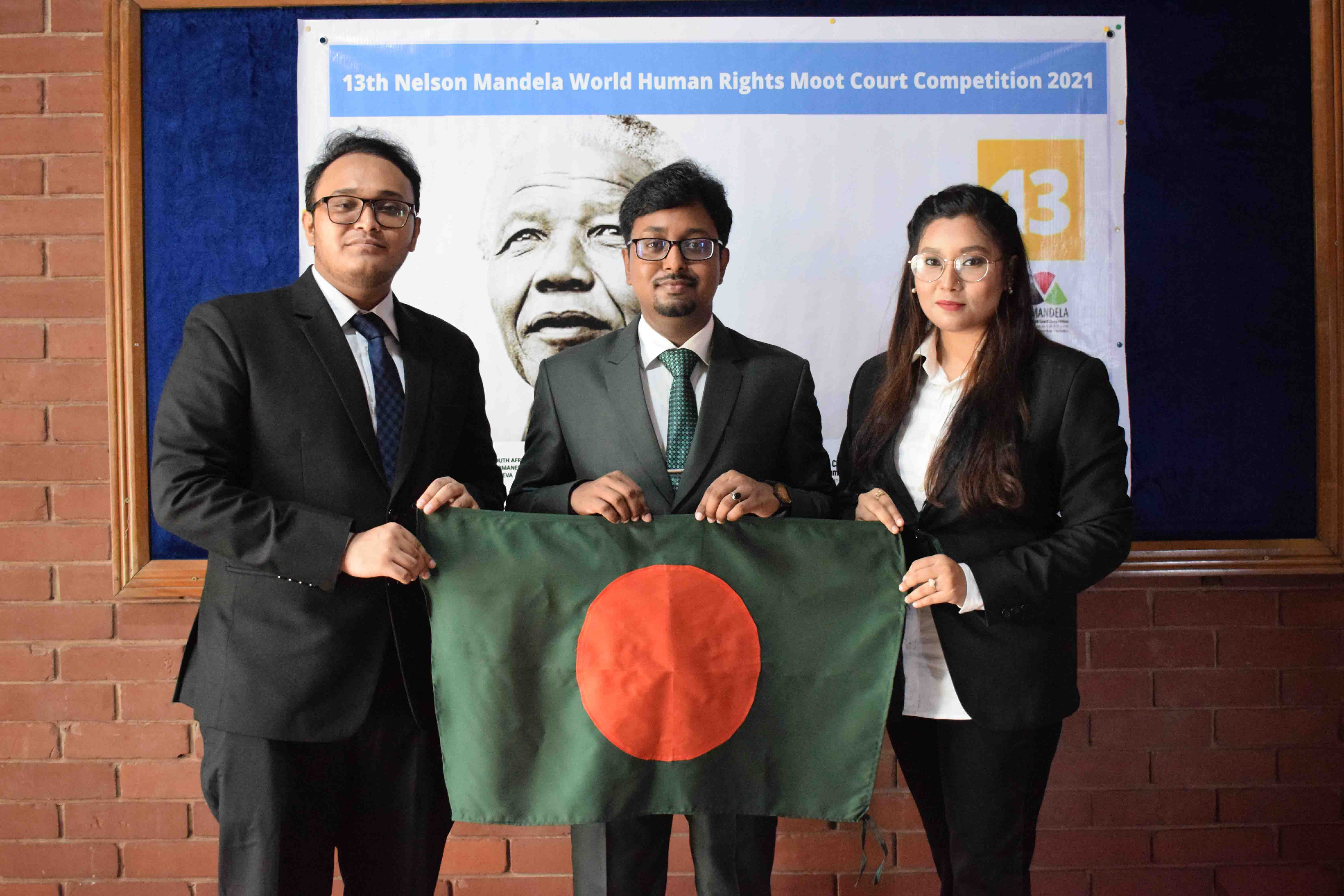 East West University Team Made History in the World Moot 2021